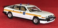 Oxford Die-Cast: Rover SD1 3500 Vitesse - Metropilitan Police Patrol Car - 1:76 Scale Die-Cast Model
